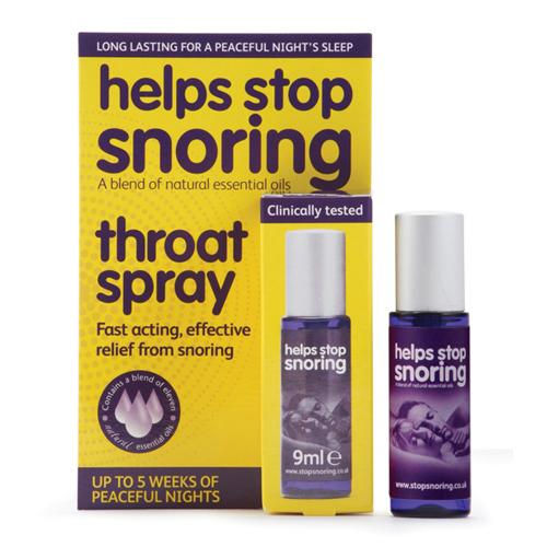 Stop snore spray