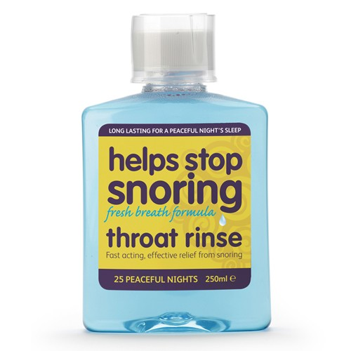 Helps Stop Snoring Throat  Rinse