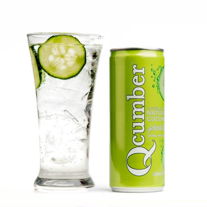 Original Qcumber 250ml Slimline Can