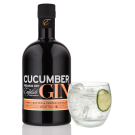 English Drinks Company - Cucumber Gin Black Bottle 70cl