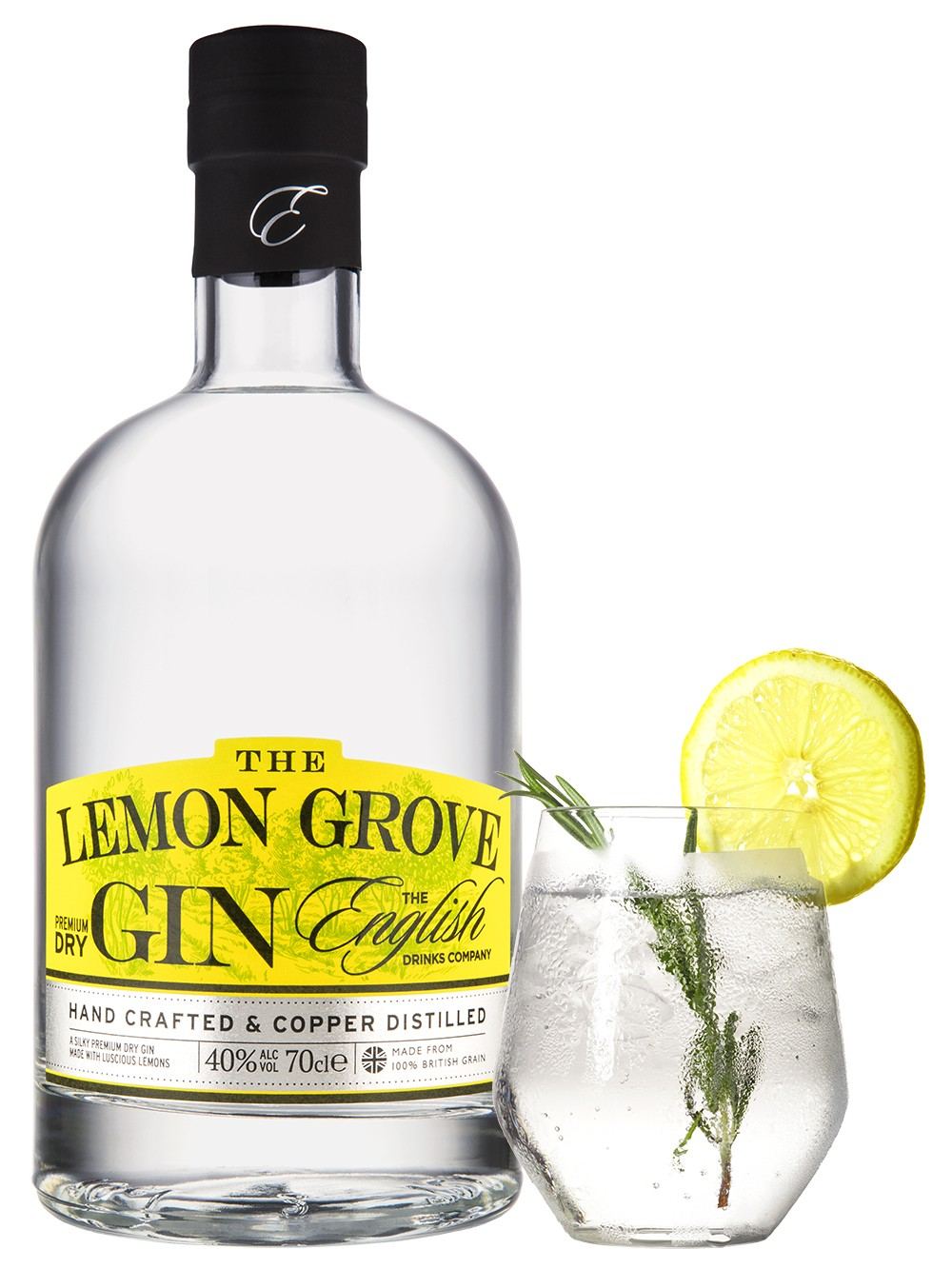 English Drinks Company – Lemon Grove Gin 70cl