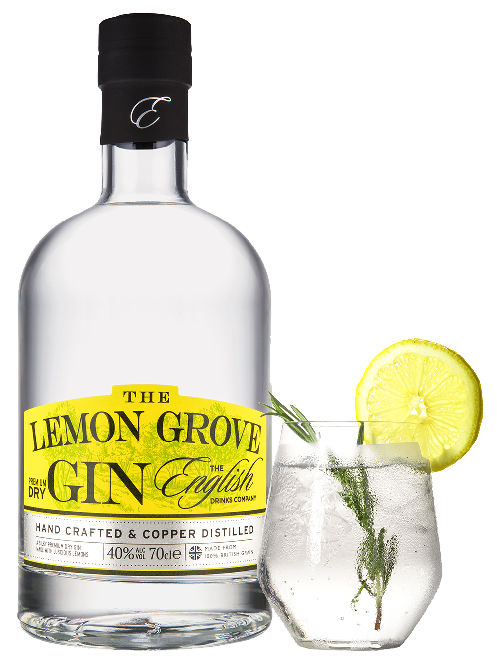 English Drinks Company – Lemon Grove Gin 70cl